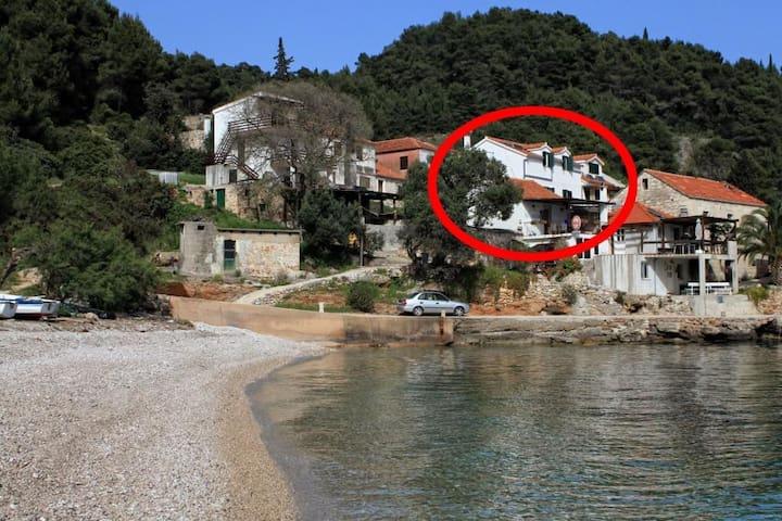 Three bedroom apartment near beach Cove Tvrdni Dolac bay - Tvrdni Dolac (Hvar) (A-8703-b)
