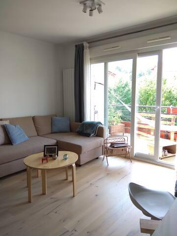 Appartement calme et lumineux en banlieue d'Annecy