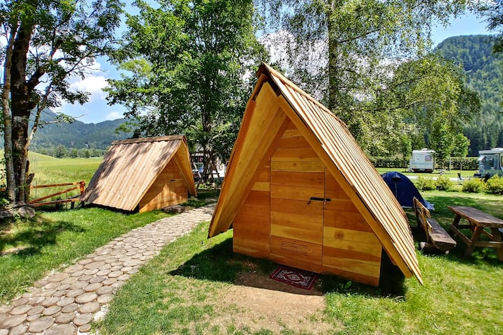Cvet Gora - Glamping Tent with mountain view 1