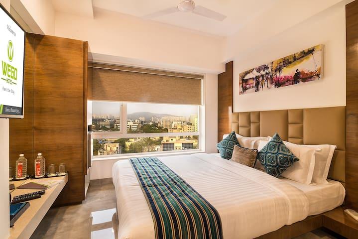 Hazel - Single Occupancy - Marol Business Hotel
