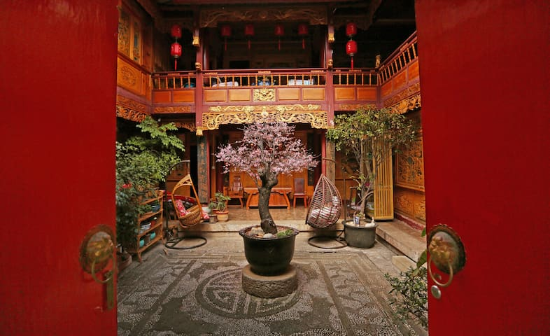 Dayan Muxin Home Inn - Sunshine honeymoon suite lo - Lijiang - Lägenhet
