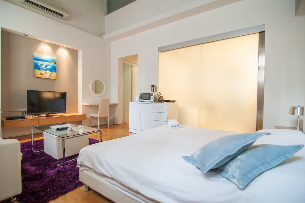 Upscale Studio @ Emerald Hill 5 - 싱가포르의 아파트에서 살아보기 ...