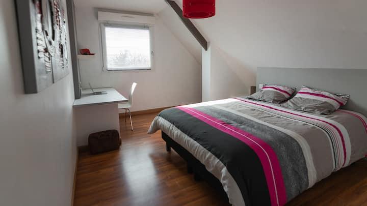 Chambre chez l'habitant en Normandie