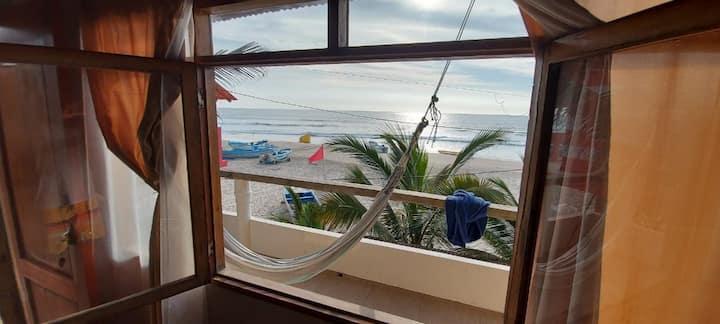 Beachfront studio!