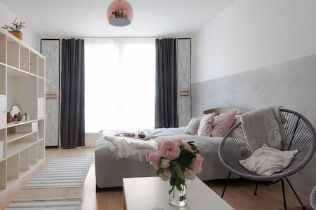 New|stylish studio flat in Budapest - Будапешт - Квартира
