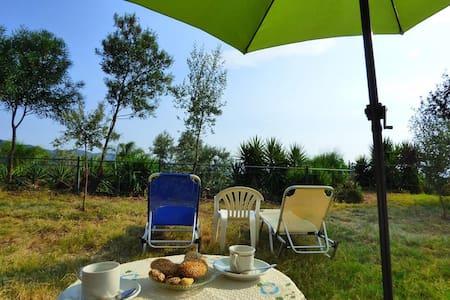 StudioII ARTEMIS / massive garden / sea view - Mikri Mantineia