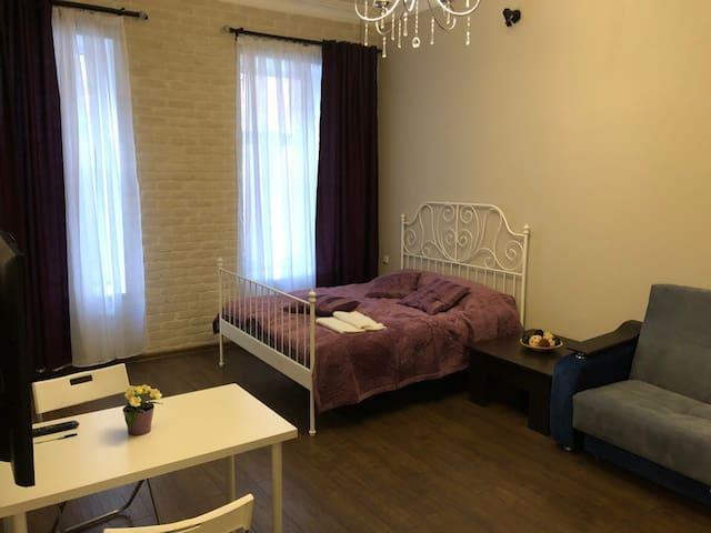 Просторная квартира в самом центре Петербурга