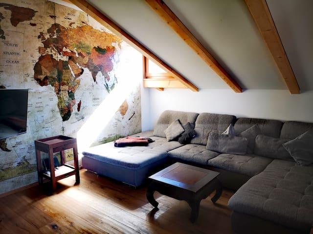 Wohnzimmer zum genießen