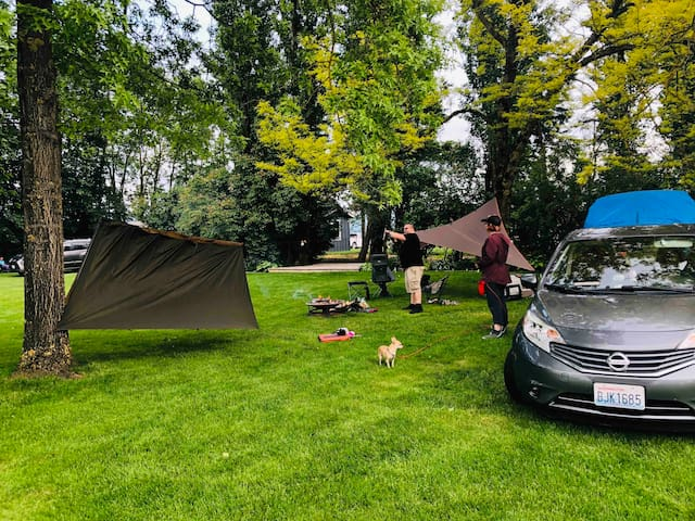 ⛺Fun on the Farm, #7 Tent Camping Site