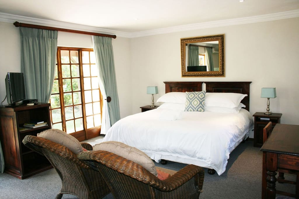 Luxury style, space and comfortable rooms