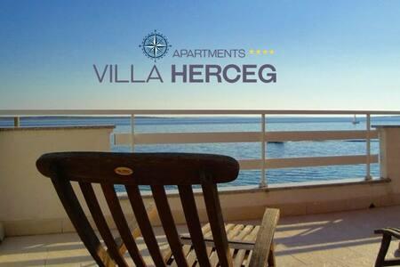 Villa Herceg - VIP  4+4  First row to the beach - Mandre