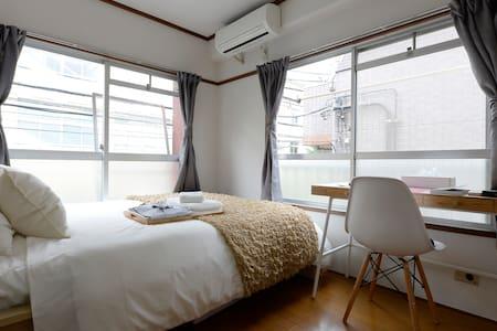 ◆Free WIFI◆Higashi-Shinjuku 4min! Cozy room I4 - Shinjuku-ku - Apartamento