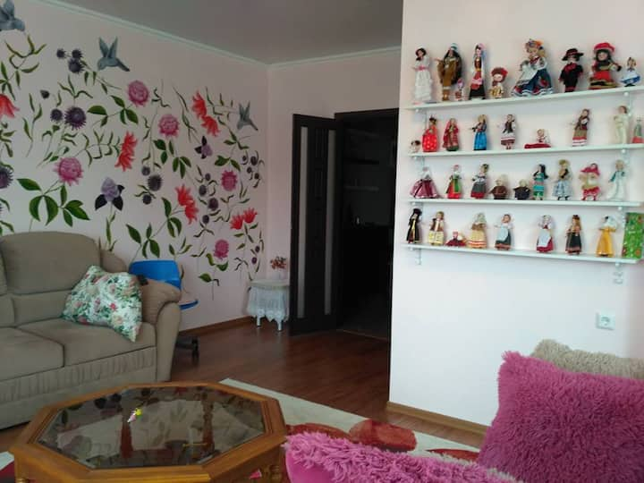 Красивая квартира у Аквапарка и Татнефть Арены