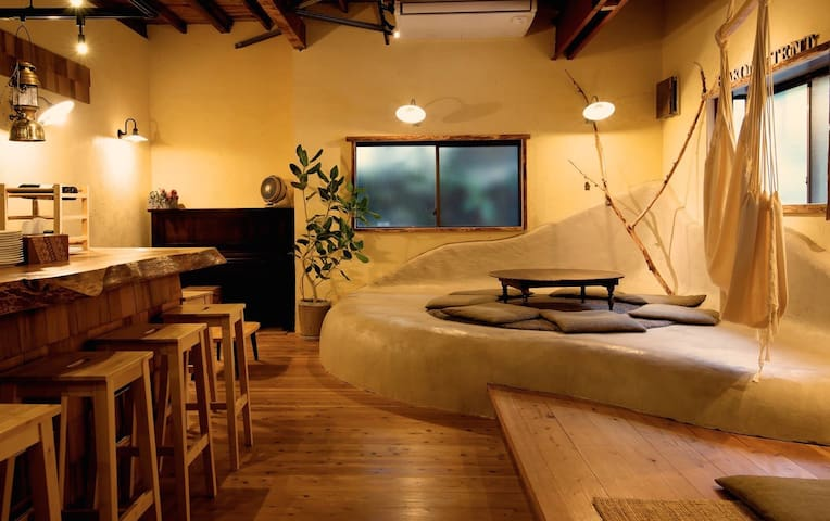 【24h Private Onsen】 HAKONE TENT Double Bedroom