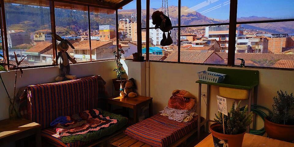Studio room for 1 / Habitación tipo estudio para 1