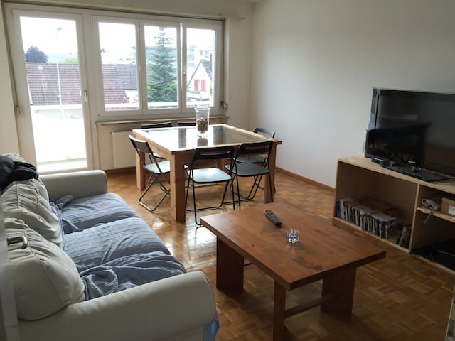 Comfy Apartment for up to 3 (20 min to Center) - Zürich - Appartement