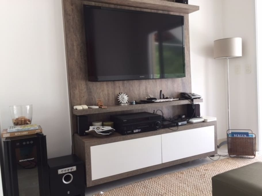 Rack TV e Home Theater