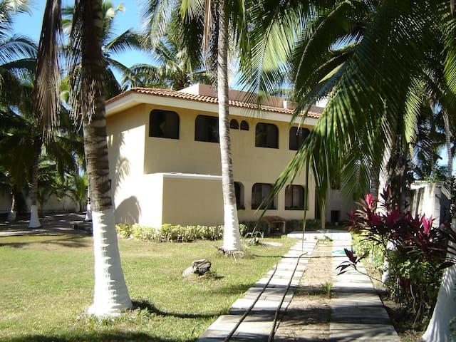 Casa en lo de Marcos a pie de playa - Lo de Marcos - Casa