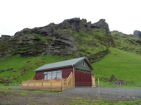 Skarðshlíð II, Cottage by Eyjafjallajökull