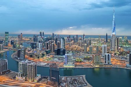 Hotel Apartment near Dubai Mall with a view