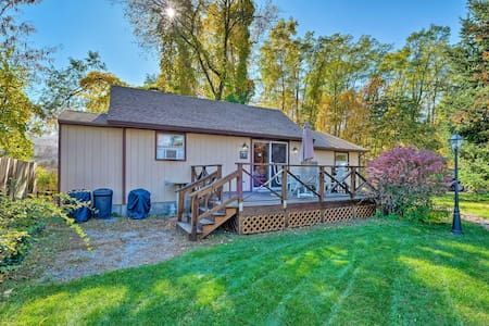 Bolton Landing Cottage w/Deck - Walk to the Beach!