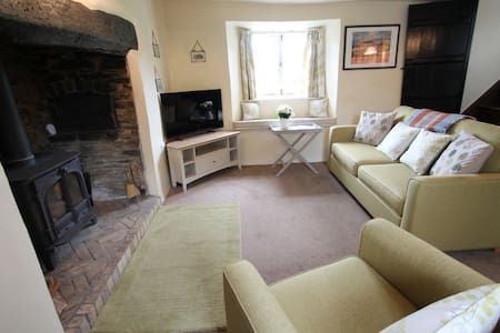 Characterful cottage, Cutcombe, Exmoor, sleeps 4 - Minehead - Rumah