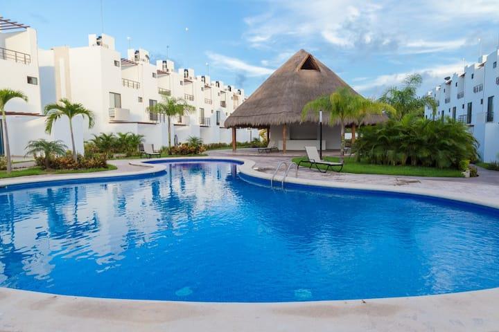 Incredible Place w/Pool & WiFi, Xcaret 5 Min