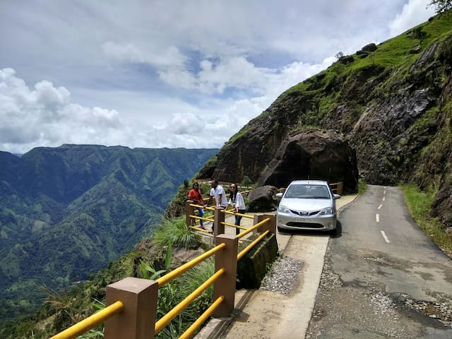 Experience the Roads of Meghalaya.