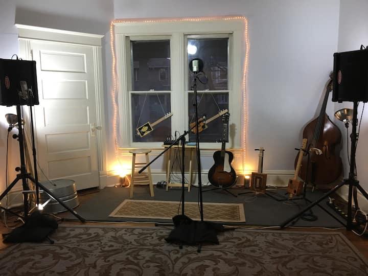 Cowboy Randy's Studio Space