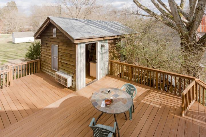 Tiny House in Artsy Bynum, NC