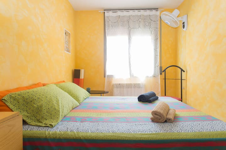 2 INDEPENDENT & SUNNY ROOMS for 2-3 guests_CENTRE