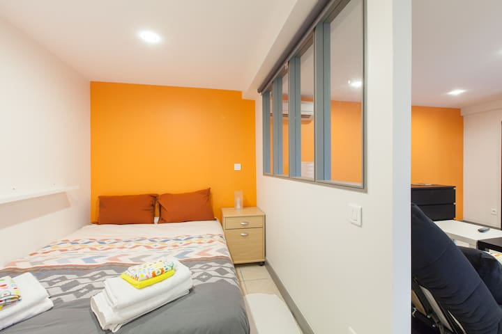 Chambre a coucher indépendante - independant bedroom