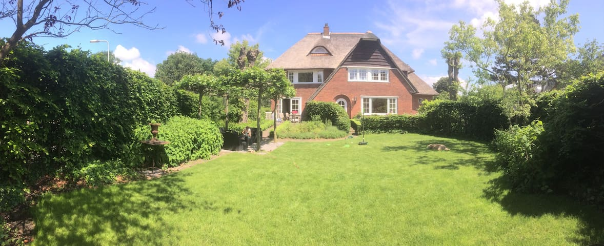 Big free standing mansion, near Amsterdam & beach - Santpoort-Zuid - Byt