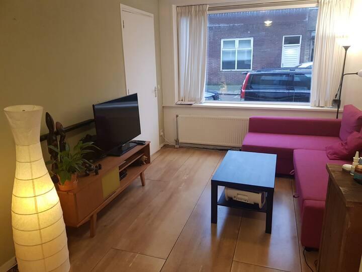 Rustig appartement t.o. park,  bij centrum Utrecht