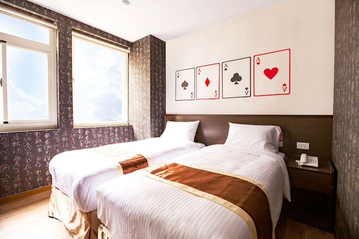 Taichung AAce Hotel - Standard Twin Room