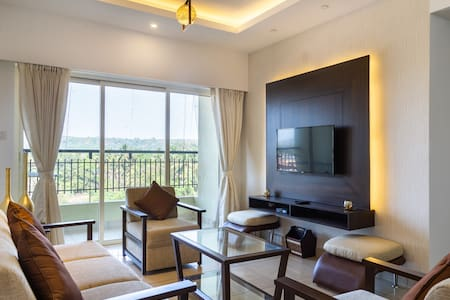 Elite Goa. 2 Bedroom Luxary Apartment.