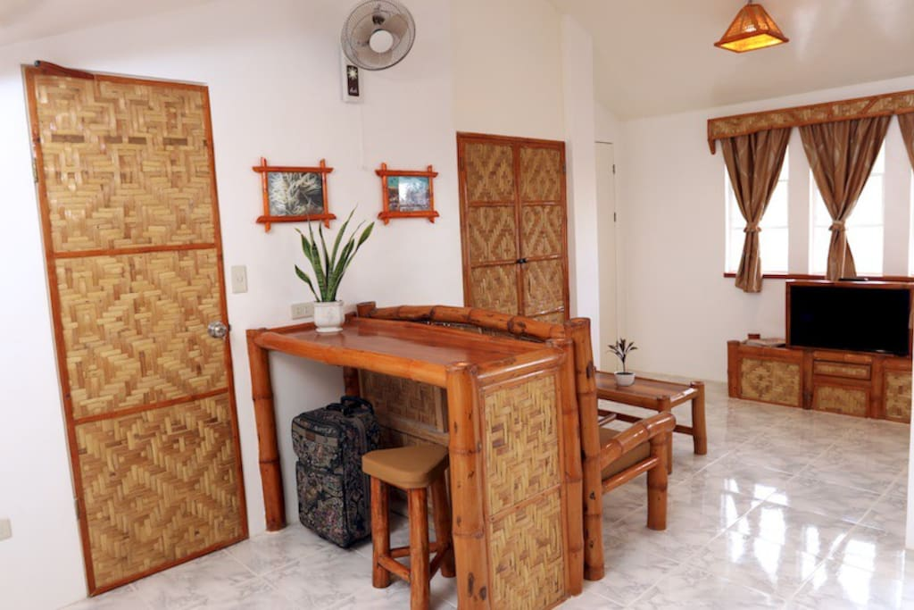 Bamboo Suite Work Station and Living Space