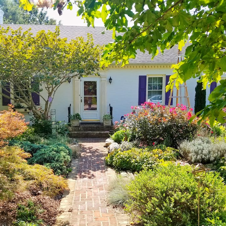 Charming, Stylish Home Close to Downtown and VT