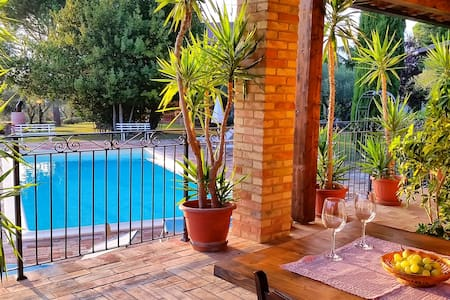 Beautiful lake view with Pool - Tolentino - Lakás
