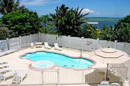 Private peaceful Oceanview Estate Close 2 Key West - Cudjoe Key