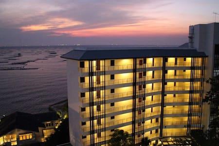 Luxury sea view 2BED 長期滞在レジデンス - Si Racha