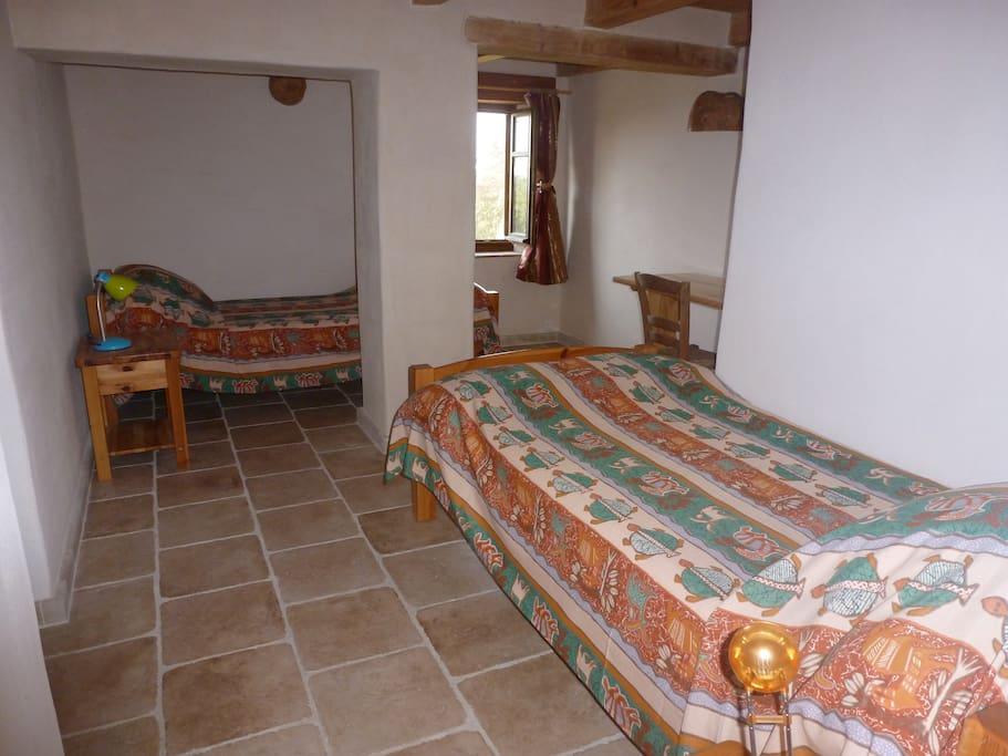 deux lits pour une personne