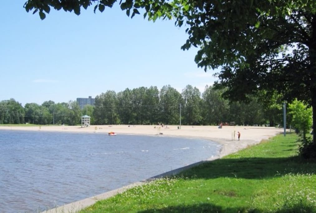 3 min walk from our house. Most beautiful beach in Ottawa.