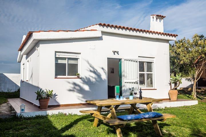 Casa con jardín en Bolonia - Cádiz - Rumah