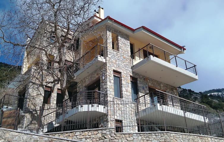 Holiday cottage with 3 bedrooms on 163 m² in Vrachni Kalavrita