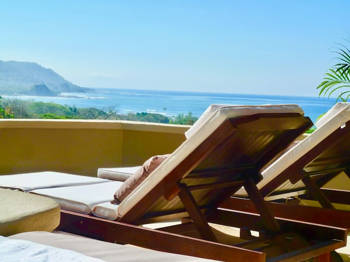Ocean View Villa - short walk to the beach