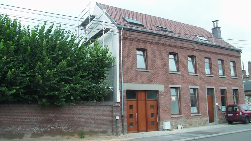 Grande maison villageoise lumineuse - Wavre - Maison