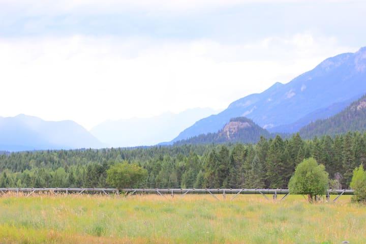 Rocky Mountain Log Home