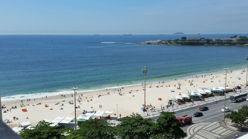 Wonderful view of Copacabana!