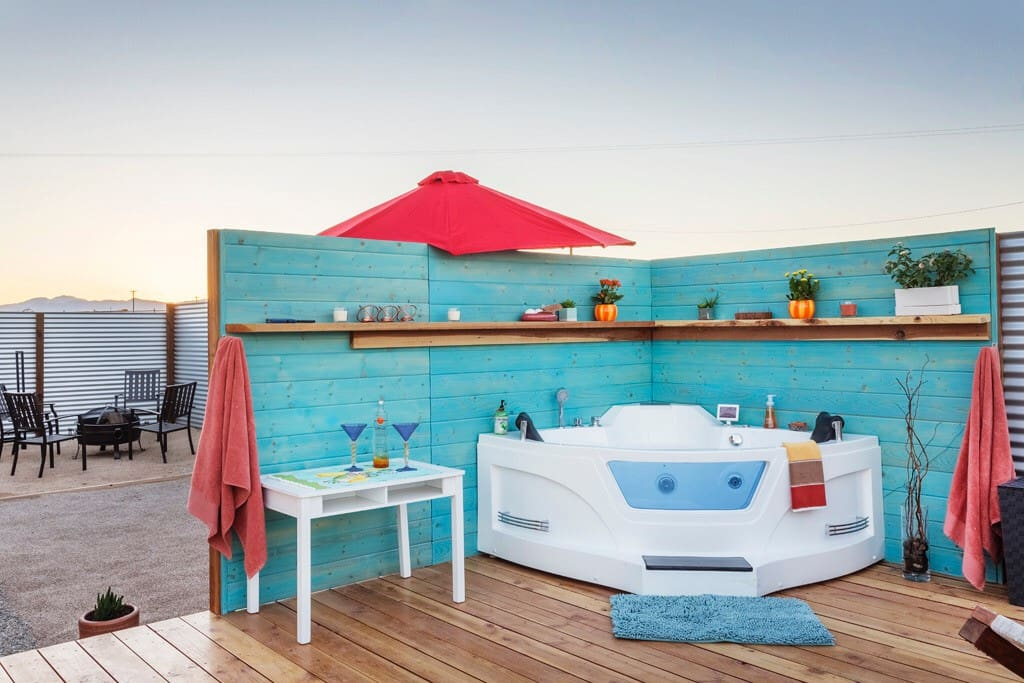 Experience true serenity in your tub for two